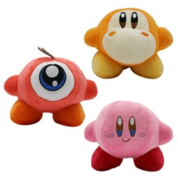 YODE Kirby Waddle Dee & Waddle Doo Plush Stuffed Animal Soft Toys for Children - 3Pcs/Set