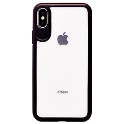 "Чехол-бампер Hoco Zero point series FRAME+BACK FILM для ""Apple iPhone X/XS"" (black)"