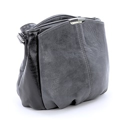 Сумка Kenguluna 89058 gray black #72926
