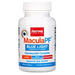 Jarrow Formulas, MaculaPF Blue Light Protection,  60 Softgels