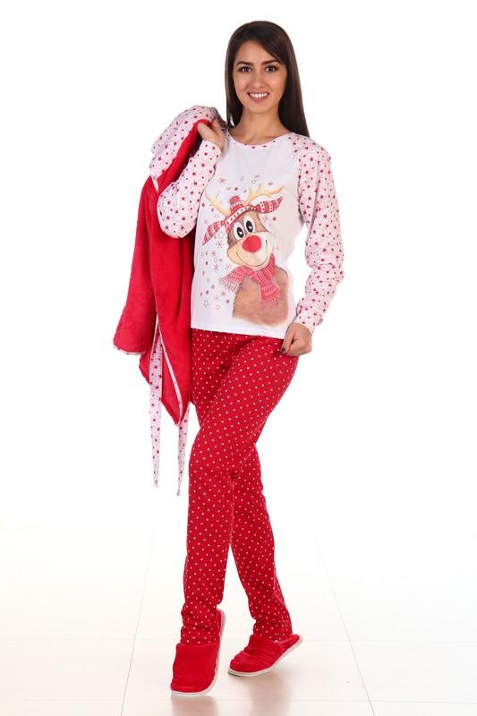 Женский костюм красного цвета доставка