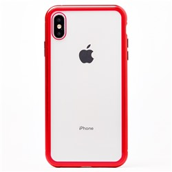 "Чехол-накладка 360 Magnetic Glass для ""Apple iPhone XS Max"" (red)"