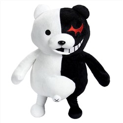 Dangan Ronpa Super Danganronpa 2 Mono Kuma Black&White Bear Plush Doll Toy