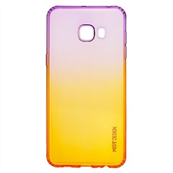 "Чехол-накладка KST для ""Samsung SM-C500 Galaxy C5"" (violet/orange) .."
