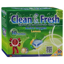 Таблетки для ПММ Clean&Fresh 5in1 (midi) 30 штук