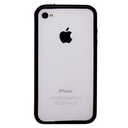 "Чехол-бампер Activ Melia для ""Apple iPhone 4/4S"" (black)"