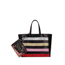 Sequin Tote and Wristlet