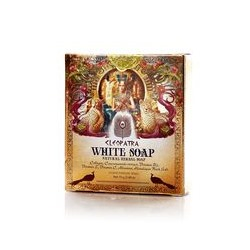Белое травяное мыло Cleopatra от Voodoo 70 гр / Voodoo Cleopatra Cooling herbal Soap 70g