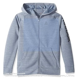 Reebok Boys' Sporty Double Knit Zip-up Hooded Jacket