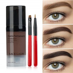Waterproof Eyebrow Tint Gel Kit, Long Lasting Brow Color Gel Mascara for Eyebrow Makeup