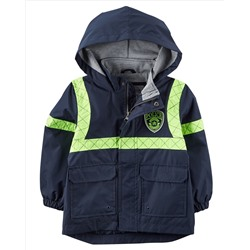 Jersey-Lined Policeman Raincoat